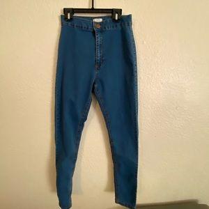 Cotton on blue jean